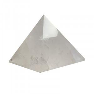 Pyramide en cristal de roche