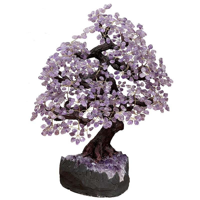 Bonsai pierres Améthyste - Brésil - 180 branches