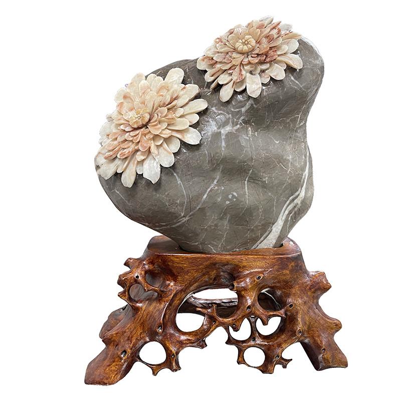 Chrysanthem stones - la pièce