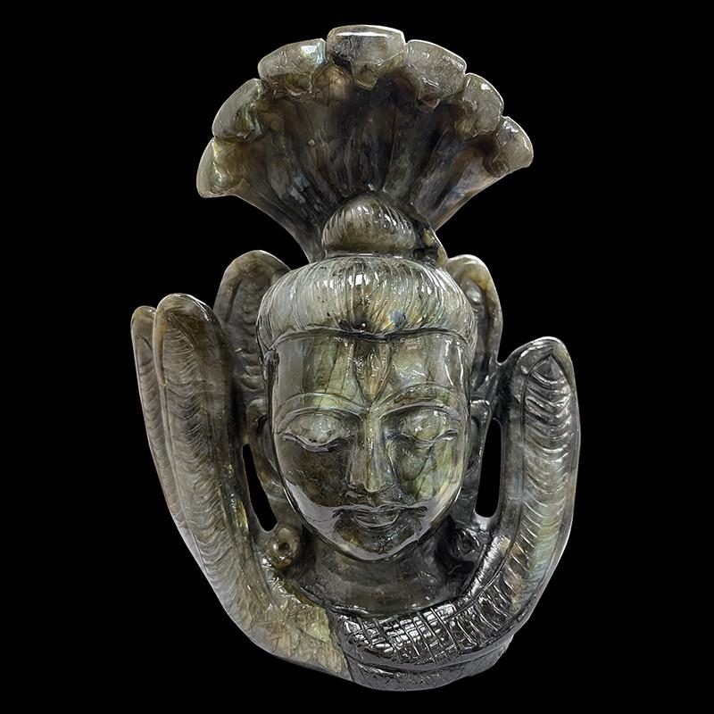 Labradorite - Tête de Shiva - La pièce