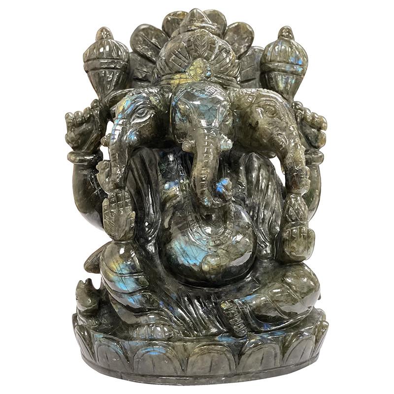 Labradorite Ganesh - la pièce