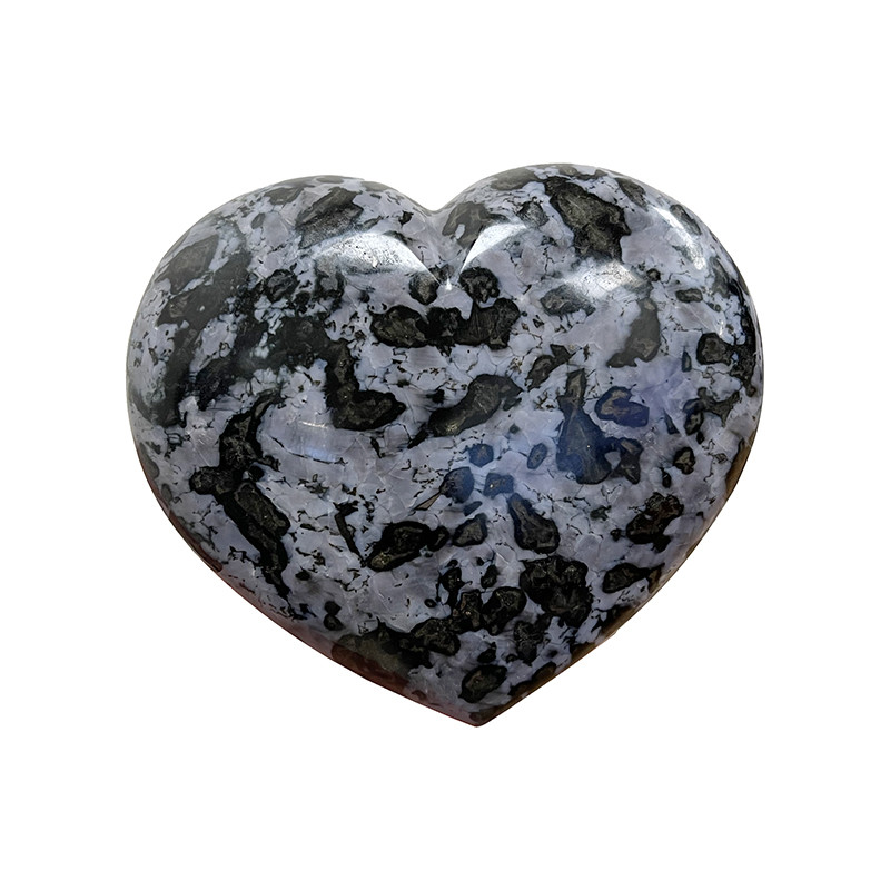 Coeur en Gabbro Merlinite - la pièce