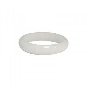 bracelet - jonc - jade blanc