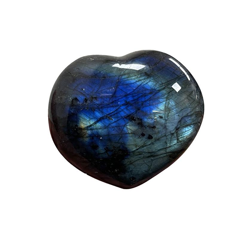 Coeur Labradorite extra - la pièce