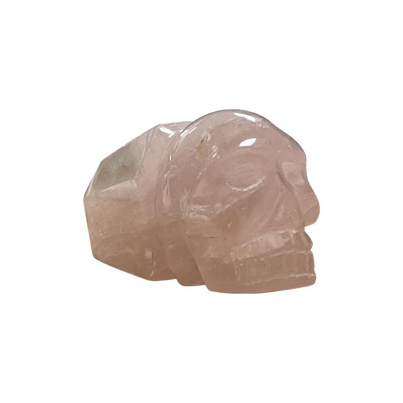 Crâne pointe Quartz rose