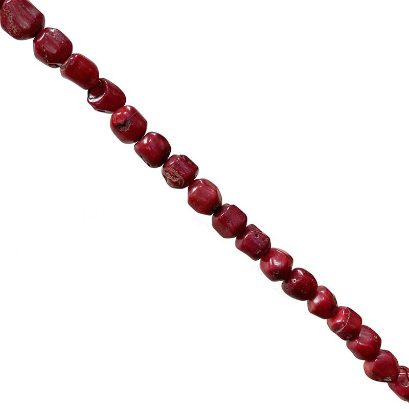 Fils Bambou de mer teinté rouge - Tronçons - 45 cm