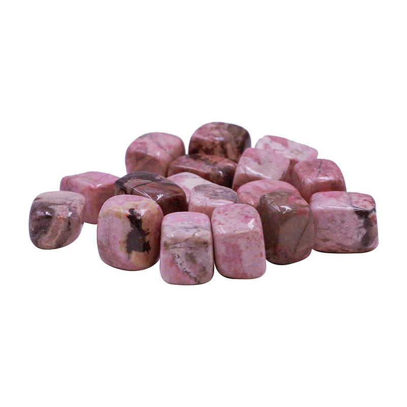 Rhodonite - les 500 grs - Pierres roulées