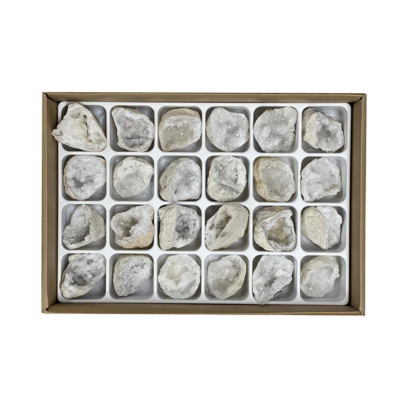 Géode de Quartz - 12 ou 24 pièces