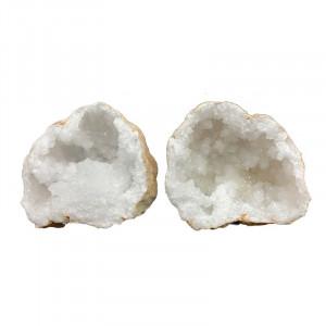 Géode de quartz - la paire - Maroc