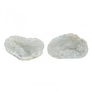 Géode de quartz - la paire