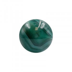 Sphère agate verte (Brésil)