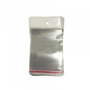 Sachet cristal avec trous 8x12cm 200 pces
