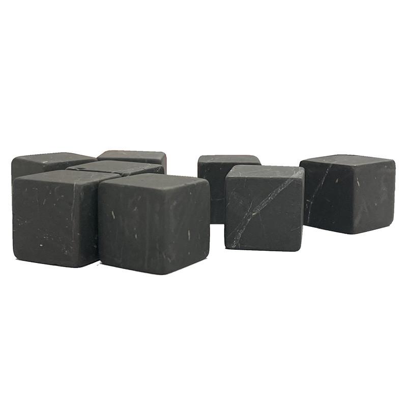 Shungite glaçons - 8 pièces