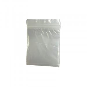 Sachet plastique à grip 58 x 68 mm
