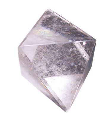 Octaèdre en Cristal de roche