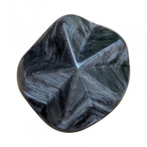 Etoile Obsidienne argentée