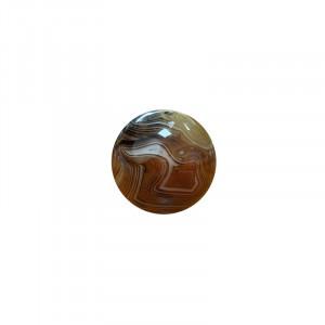 Sphère en Cornaline zoné
