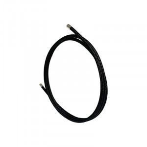 Cordon tissu magnetique pour collier/bracelet