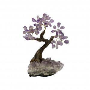 Bonsai pierres Améthyste Brésil 16/17 cm