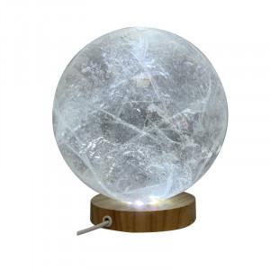 Sphère en cristal de roche